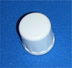 "448-005 1/2"" FPT (female NPT) cap Sch 40 COO:USA - PVC-Fittings-Caps-Sch40-FPT"
