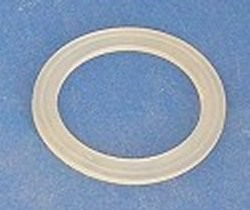 Extra Gasket ABS/PVC KRATON.1-1/2 Bulkheads - Translucent - Bulkhead-Fittings-Parts