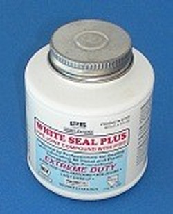 Can of Teflon Thread Sealant aka Pipe Dope,1/4 pint NSF approved  - Pipe-Thread-Sealants