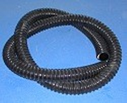 Black 1/2 inch (.61 inches ID) no-kink pond flex hose - Black-No-Kink-PondFlexBTF