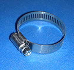 86-1600 up to 4.5 inch hose clamp - Hose Clamps-ZincStainless