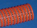 Roll of FlexPVC's flexible braided hybrid hose