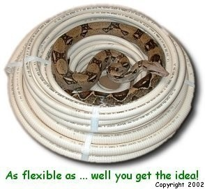 FlexPVC.com's Flexible pvc pipe, how flexible is it?