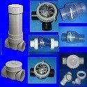 PVC Check Valves, Ball Checks, Flapper Check Valves, Backflow Valves, Corrosion Resistant Hastalloy Spring Check Valves & No Spring Reef Safe Check Valves.
