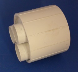 Sch 40 Fabbed Distributor