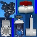 PVC Ball Valves, Gate Valves, Blade Valves and Diverter Valves.